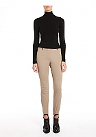 Alexander Wang Stirrup Pant with Leather Detail