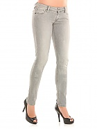 Guess Gray Beverly No Zip Stretch Jeany
