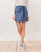 Stradivarius denim skirt