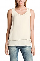 Hugo Bss Nude layered top