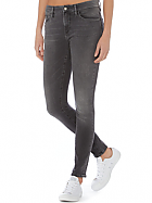 Calvin Klein Gray High Rise Super Skinny Jean