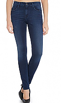 Calvin Klein Super Skinny High Rise Jeans Calvin Klein Super Skinny High Rise Jean In Satin Dark Stretch