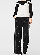 MANGO polka top pants